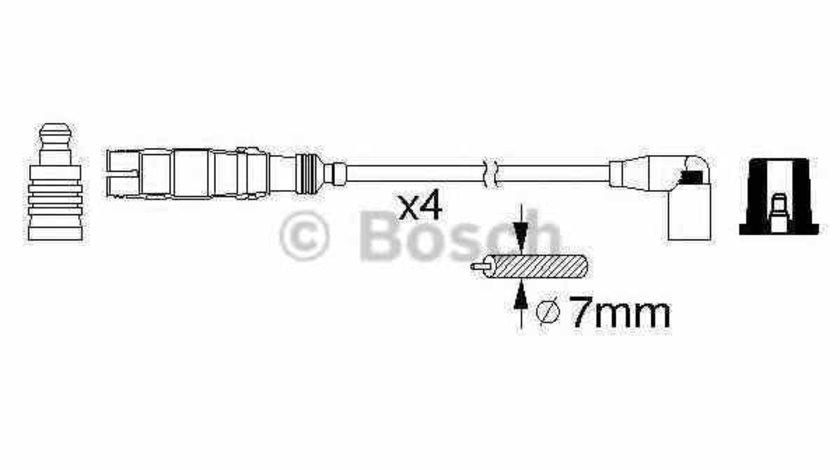 Set fise bujii AUDI A4 Avant 8D5 B5 BOSCH 0 986 356 359