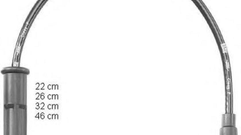 Set fise bujii DACIA LOGAN MCV (KS) (2007 - 2016) BERU ZEF1546 produs NOU