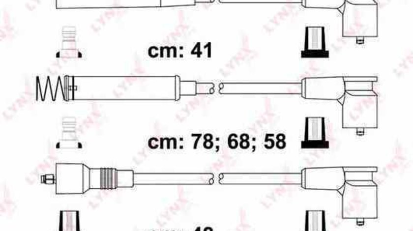 Set fise bujii Producator BERU ZEF5800300890580