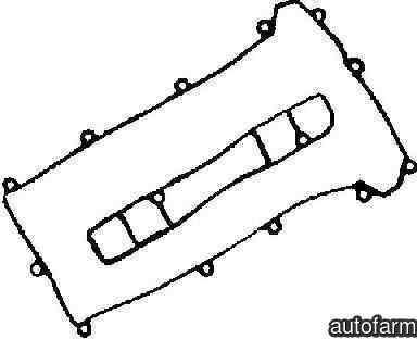 Set garnituri capac culbutori MAZDA 6 hatchback GH REINZ 15-35538-01