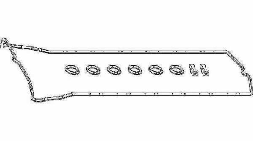 Set garnituri capac culbutori MERCEDES-BENZ E-CLASS W124 TOPRAN 401 083