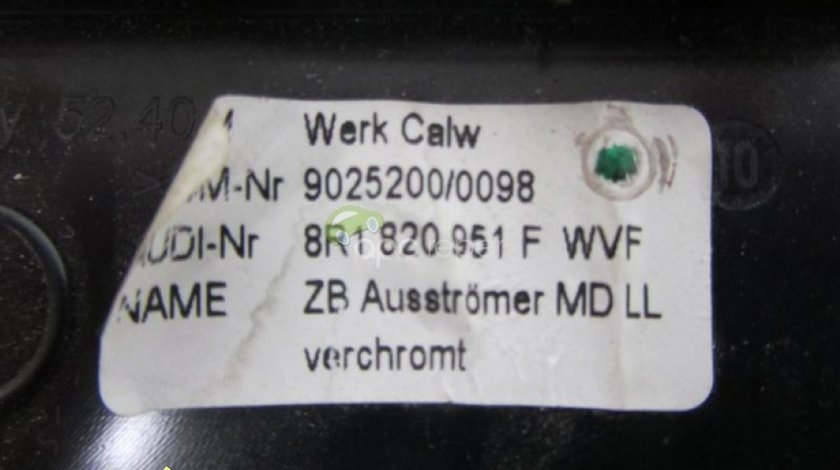 Set Grile Aer Audi Q5 8R Originale