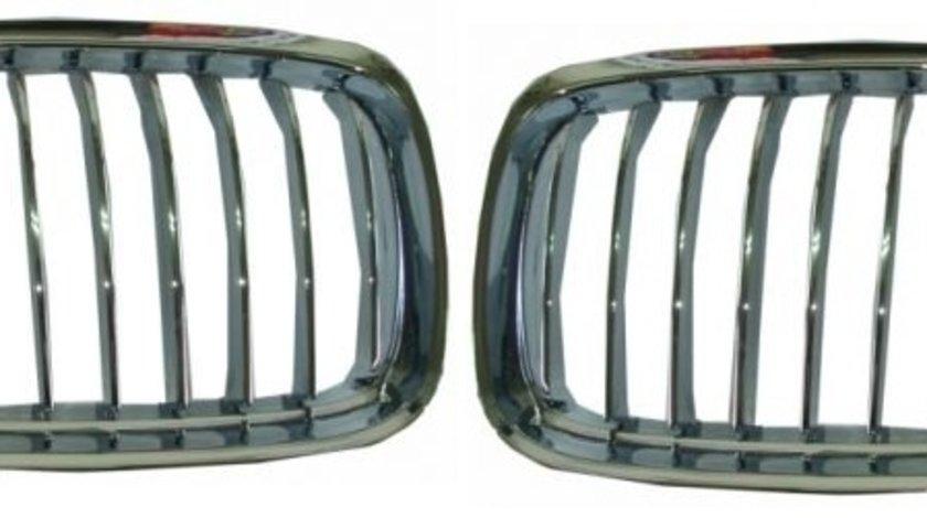 Set grile radiator (nari) noi fara bandou BMW Seria 3 E90/E91 LCI