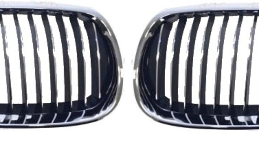 Set grile radiator (nari) noi fara bandou BMW Seria 3 E92/ E93 coupe