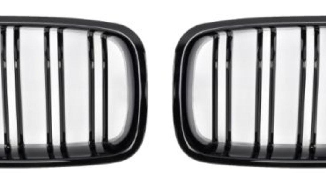 Set grile radiator negru lucios, , 2 piese BMW Seria 3 (F30 316 d/316 i/318 d/318 d xDrive/318 i/320 d/320 d xDrive/320 i/320 i xDrive/325 d/328 i/328 i xDrive/330 d/330 d xDrive/330 e/330 i/330 i xDr cod intern: CI6796CD