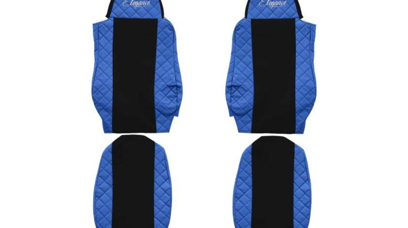 Set huse scaun DAF XF95-XF105 albastru productie 2002-2012