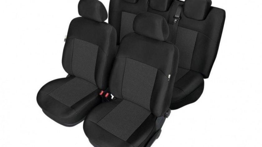 Set huse scaune auto model ARES pentru Ford Fiesta MK7 din 2017- , huse fata si spate Kegel , HUSE DEDICATE Kft Auto