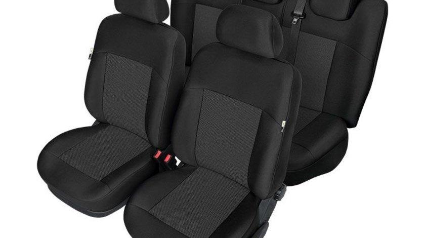 Set huse scaune auto model ARES pentru Kia Sportage 4 (QL) 09.2015-, huse fata si spate Kegel , HUSE DEDICATE Kft Auto