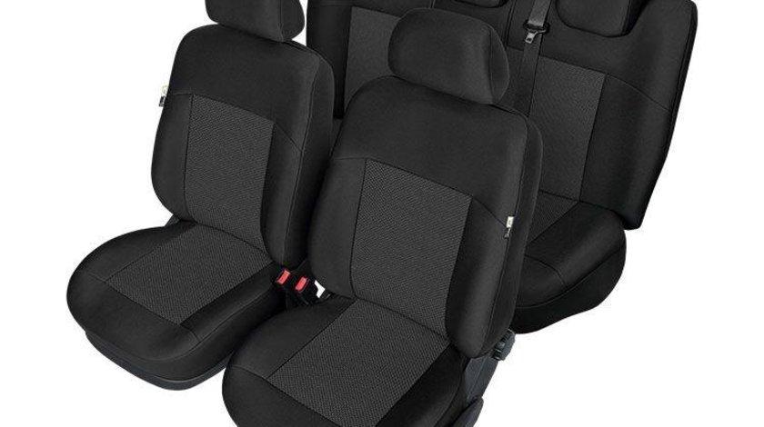 Set huse scaune auto model ARES pentru VW Passat B7 11.2010-2015, huse fata si spate Kegel , HUSE DEDICATE Kft Auto