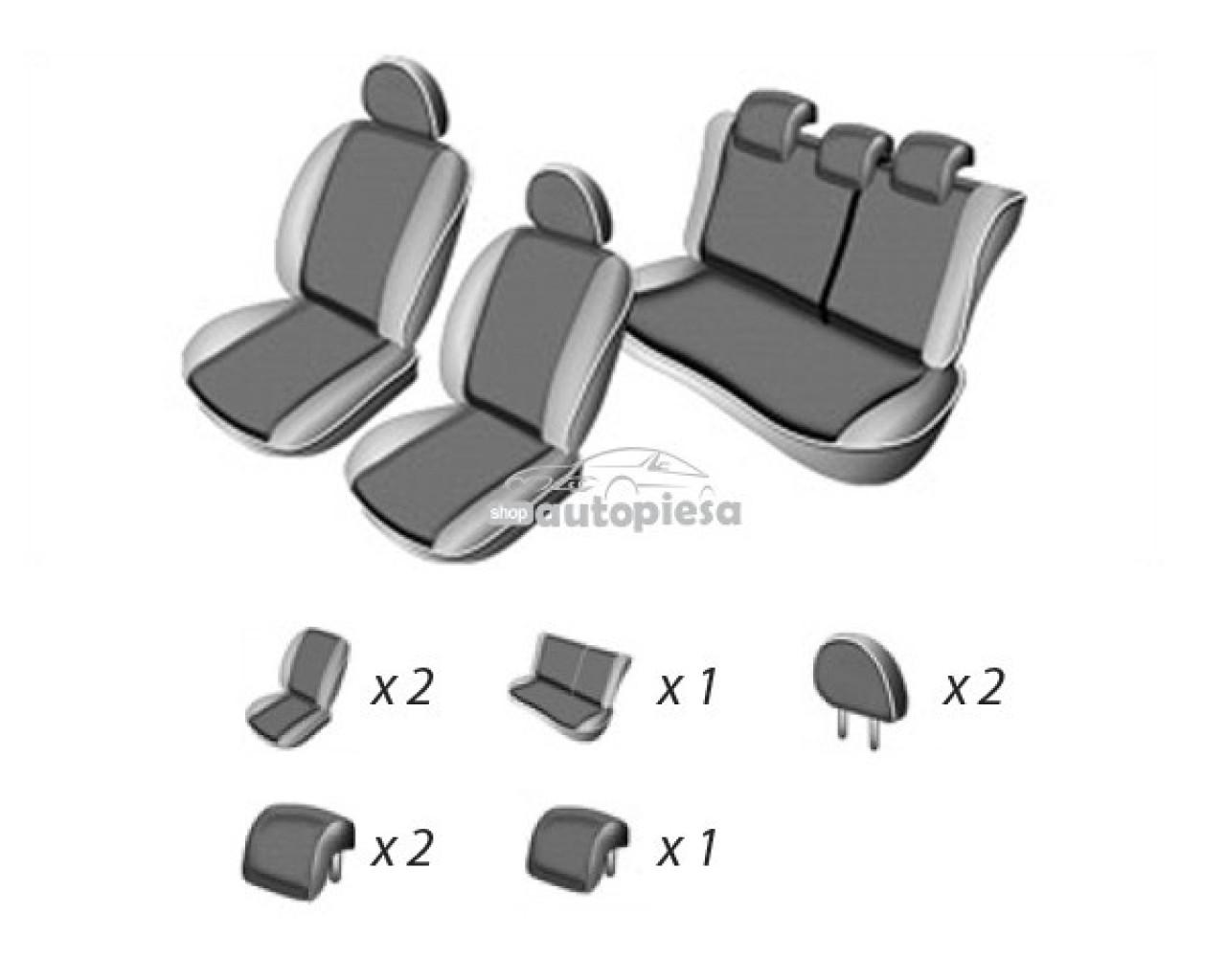 Set huse scaune SEAT LEON 2005 - 2012 UMBRELLA 45965 piesa NOUA