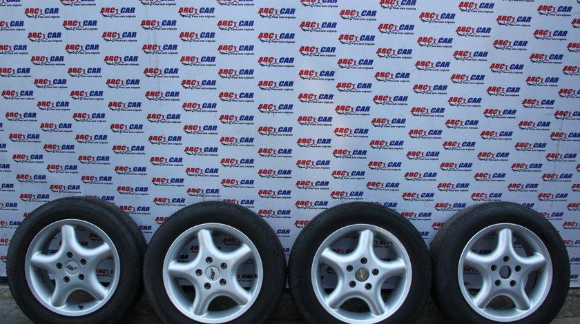 Set jante aliaj AEZ cu anvelope Goodride 195 / 60 / R15 5X112 ET35 Mercedes C-CLASS W203 model 2003