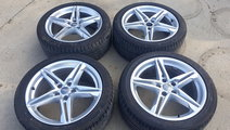 Set Jante Aliaj Audi A4 B9 R18 5*112 E-8.0 Jx18 H2...