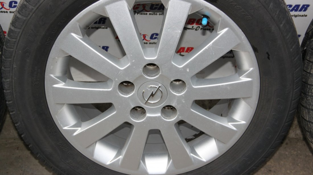 Set jante aliaj BORBET cu anvelope de iarna GOODRIDE 205 / 55 / R16 Opel Zafira A model 2003
