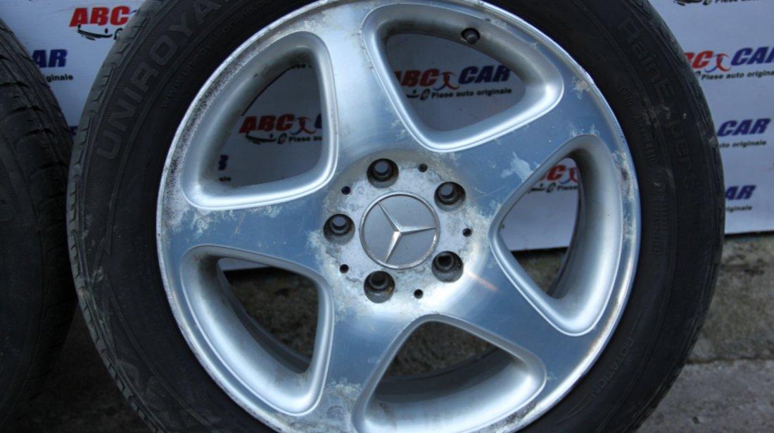 Set jante aliaj Borbet cu anvelope Mercedes E-CLASS W212 205 / 60 / R16 5X112 ET42 model 2012