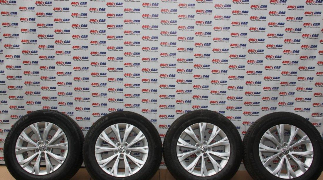 Set jante aliaj Borbet R17, ET40 VW Tiguan (AD1) model 2017 5NA601025