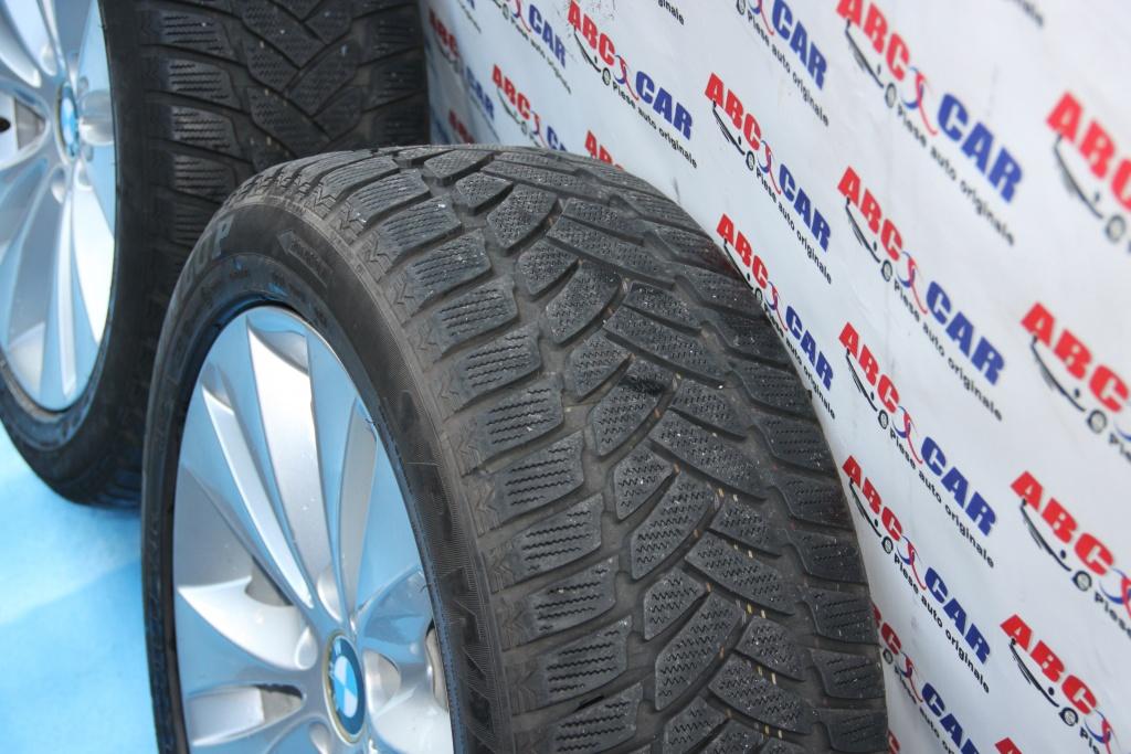 Set jante aliaj cu anevelope de iarna Dunlop 225 / 50 / R17 7 1/2 JX17 H2 6758775 / 0544070 BMW Seria 5 E6