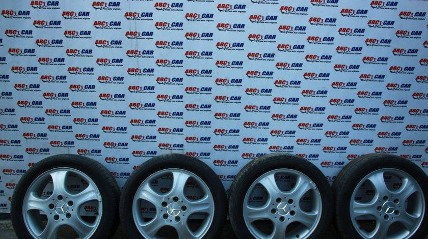 Set Jante aliaj cu anvelope 195 / 50 / R16 5X112 ET42 Mercedes Vaneo W414 cod: A4144010202 model 2003