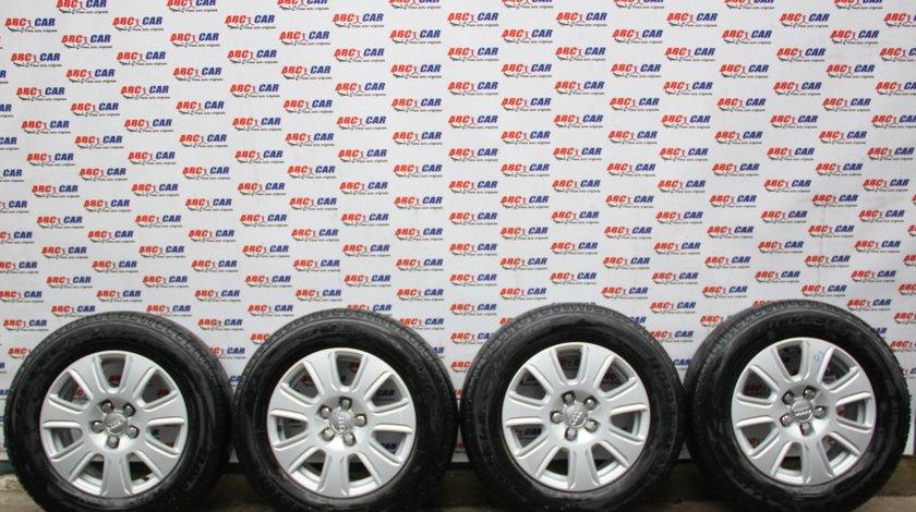 Set jante aliaj cu anvelope 215 / 65 / R16 ET 33 5X112 Brigestone Audi Q3 8U cod: 8U0601025 model 2014