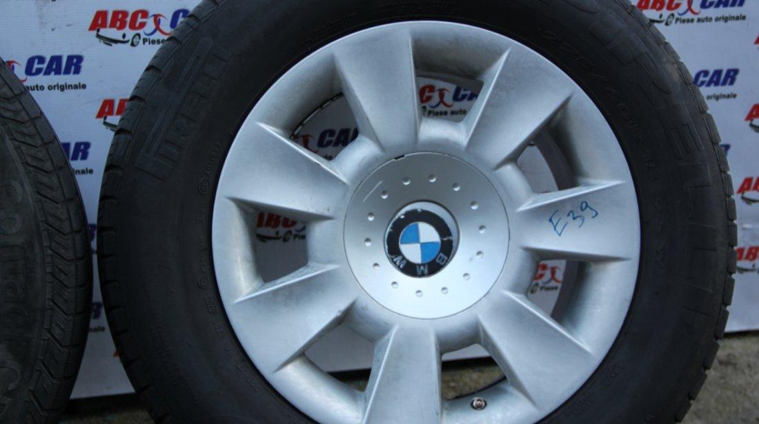 Set jante aliaj cu anvelope 225 / 60 / R15 7JX15H2 ET 20 5X120 cod: 6751763-13 BMW Seria 5 E39 model 2000