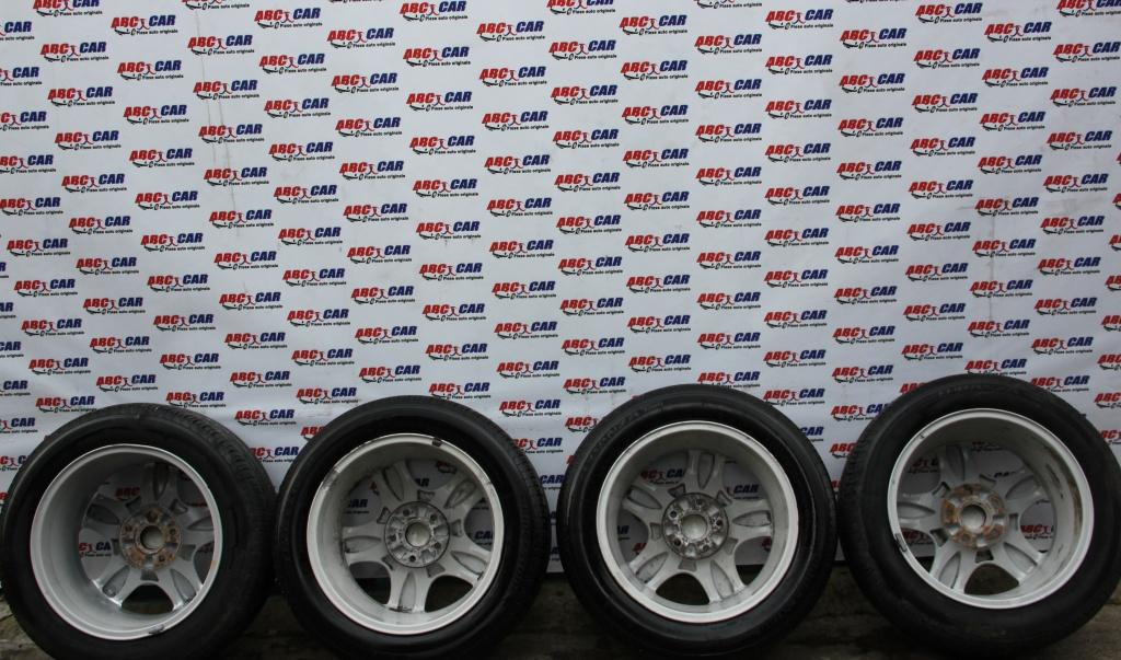 Set jante aliaj cu anvelope Bridgestone 205 / 55 R16 7JX16H2 5X112 ET45 Audi A4 B6 8E cod: 8D0601025C