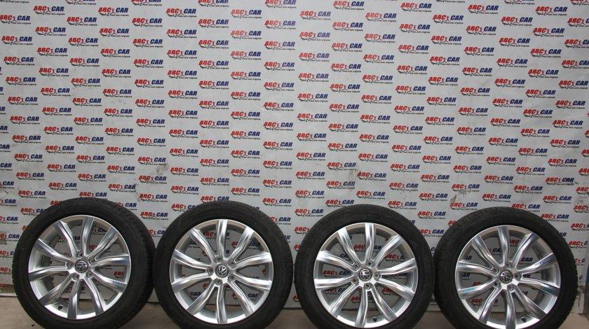 Set jante aliaj cu anvelope Bridgestone de vara 215 / 50 / R18 VW T-Roc A11 cod: 2GA601025D model 2018