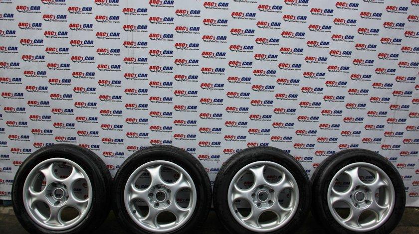 Set jante aliaj cu anvelope de vara 205 / 55 / R16 5X120 7JX16H2 BMW Seria 3 E46 model 2003
