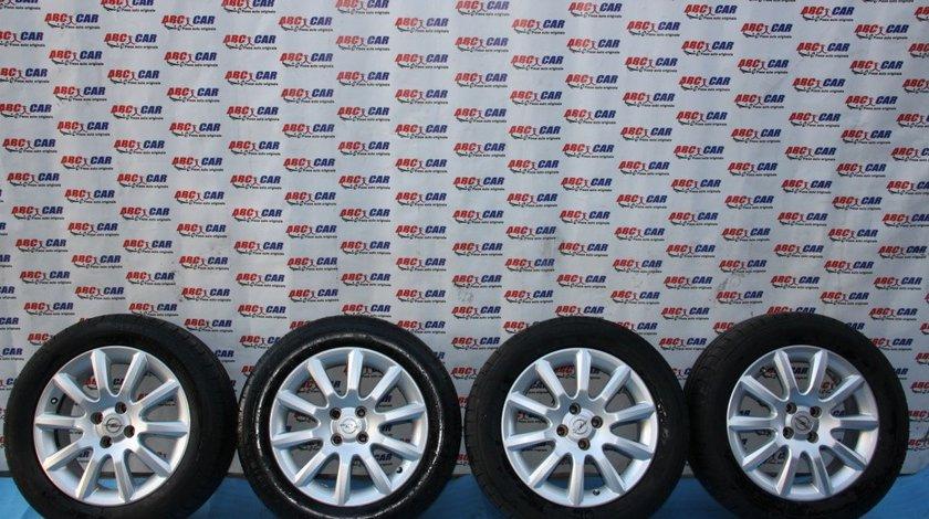 Set jante aliaj cu anvelope de vara King Meiler 205 / 55 / R16 6.5JX16 ET 37 4X100 Opel Astra G model 2002