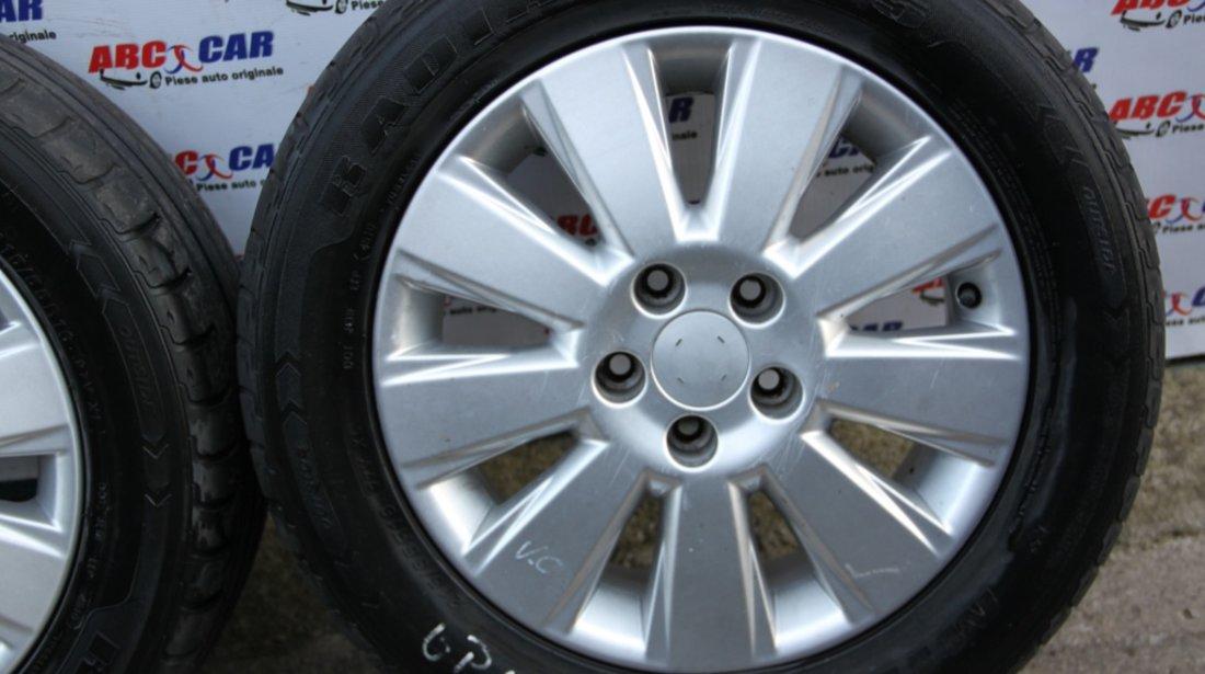 Set jante aliaj cu anvelope de vara Minerva 215 / 55 / R16 6.5JX16 ET41 5X112 Opel Vectra C model mdel 2006
