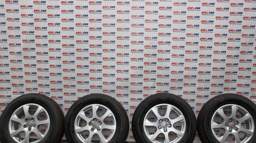 Set jante aliaj cu anvelope Dunlop M+S 235 / 65 / R17 cod: 8R0601025E ET 37 5X112 Audi Q5 FY model 2018