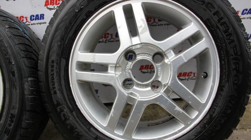 Set jante aliaj cu anvelope M+S de iarna 195 / 65 / R15 6JX15H2 cod: 98AB-DA 4X108 Ford Focus 1 model 2001