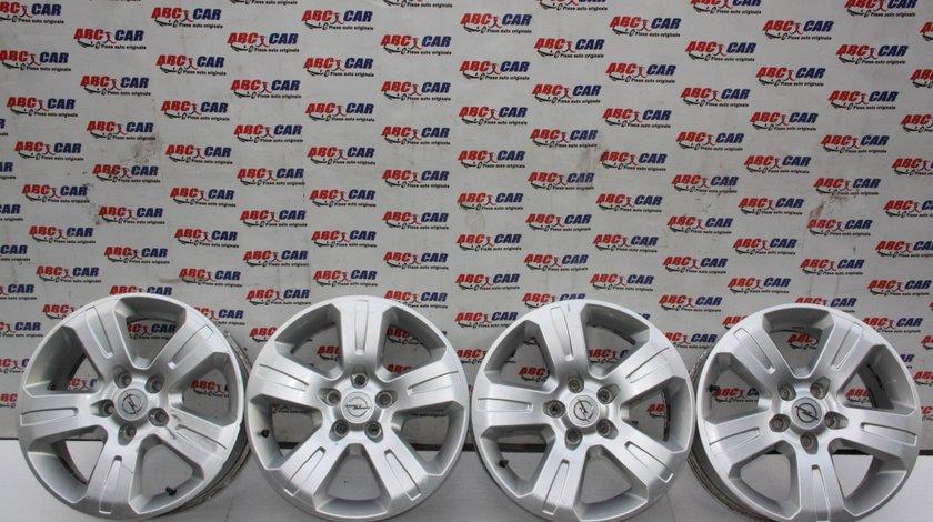 Set jante aliaj cu anvelope Opel Astra H R17 ET 46 17X7J 5X110 model 2007