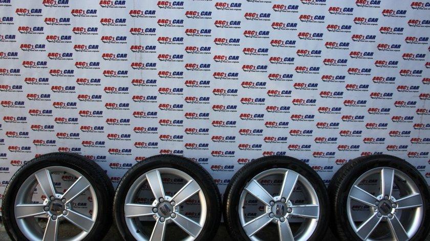Set jante aliaj cu anvelope Pirelli 225 / 45 / R17 ET 54 5X112 7JX17H2 Seat Leon 1P cod: 1P0601025C model 2009