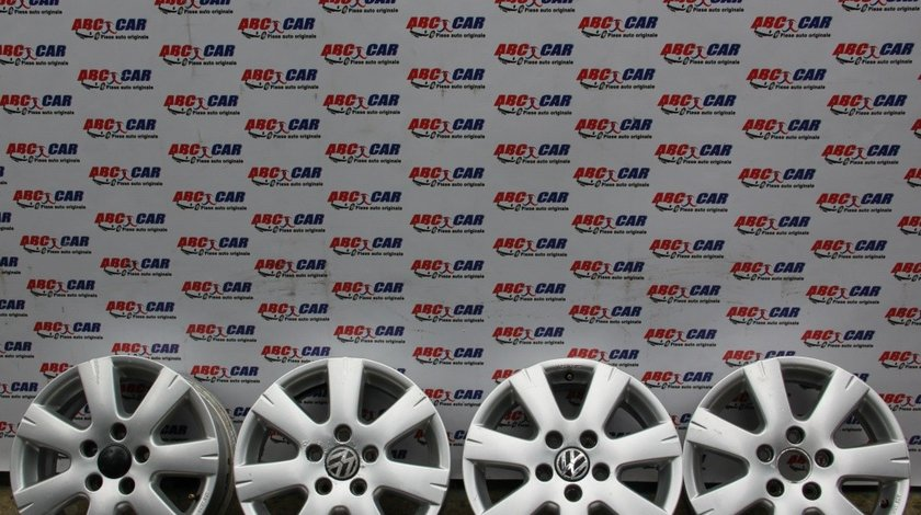 Set jante aliaj R15 5X112 ET 50 VW Touran 1T cod: 2K1071495 model 2007