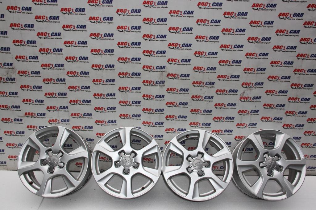 Set jante aliaj R16 7JX16H2 ET 46 Audi A4 B8 8K cod: 8K0601025M model 2010