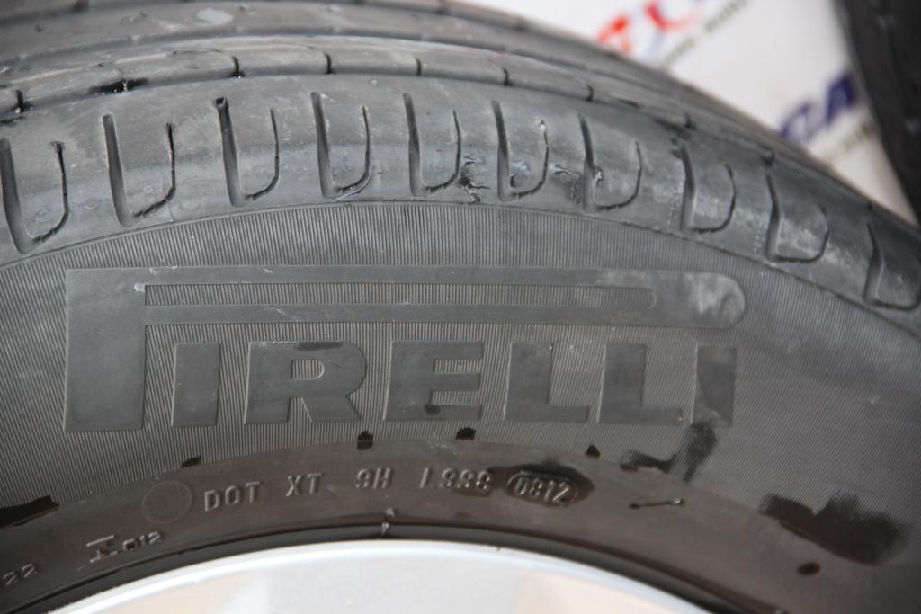Set jante aliaj R16 cu anvelope Pirelli Audi A6 4G C7 cod: 4G0601025 model 2015