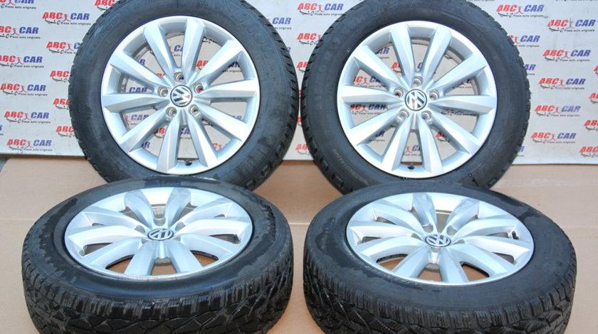 Set jante aliaj R17 VW Tiguan (5N) ET43, 7.0Jx17H2 2007-2016 5N0601025P
