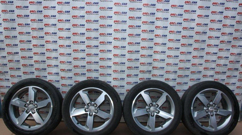 Set jante aliaj R18 cu anvelope Continental Audi Q3 8U cod: 8U0801025 model 2012