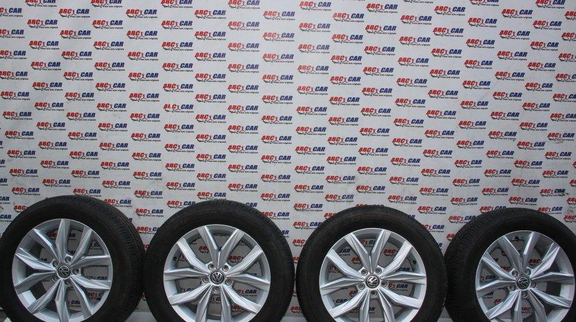 Set jante aliaj R18 VW Tiguan AD1 7JX18H2 ET43 5X112 cod: 5NA601025B model 2018