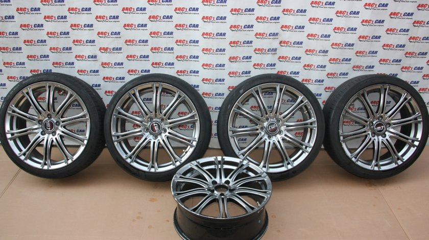 Set jante aliaj + rezerva CW Wheels cu anvelope Continental R19 VW Golf 7 model 2016