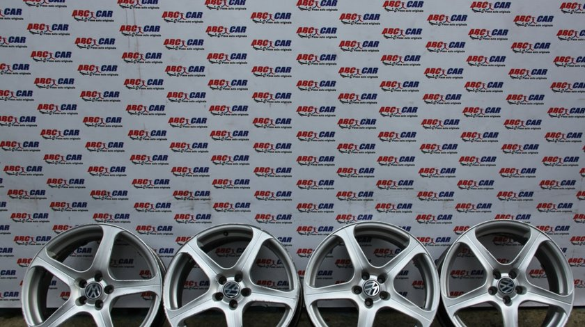 Set jante aliaj VW Golf 4 R18 5X100 ET 35 7.5JX18H2 model 2002
