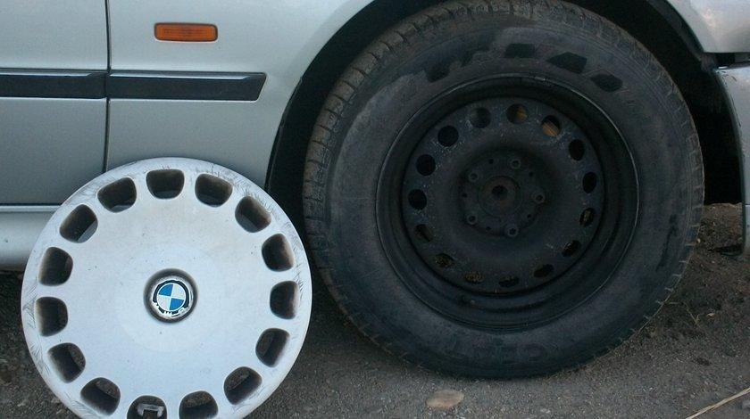 Set jante tabla BMW E39 ( Seria 5 ) complete cu tot cu cauciuc si capac 205, 65  R15