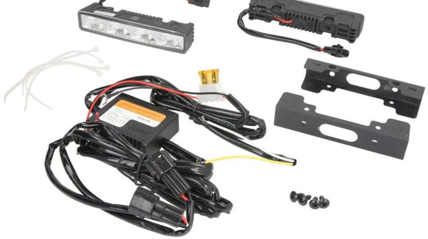 Set lumini de zi LED 12/24 V; 2 W