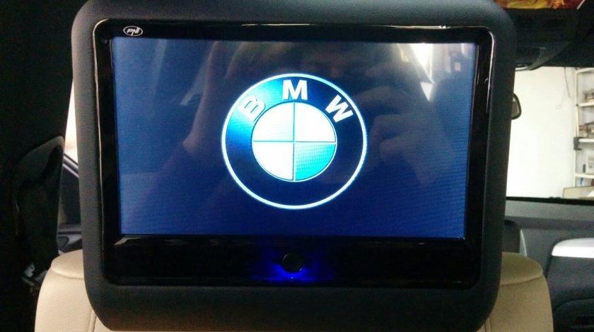 SET MONITOARE DE TETIERA BMW ECRAN 9'' TOUCHSCREEN DVD PLAYER SD USB PNI DB900 HD LOGO SELECTABIL