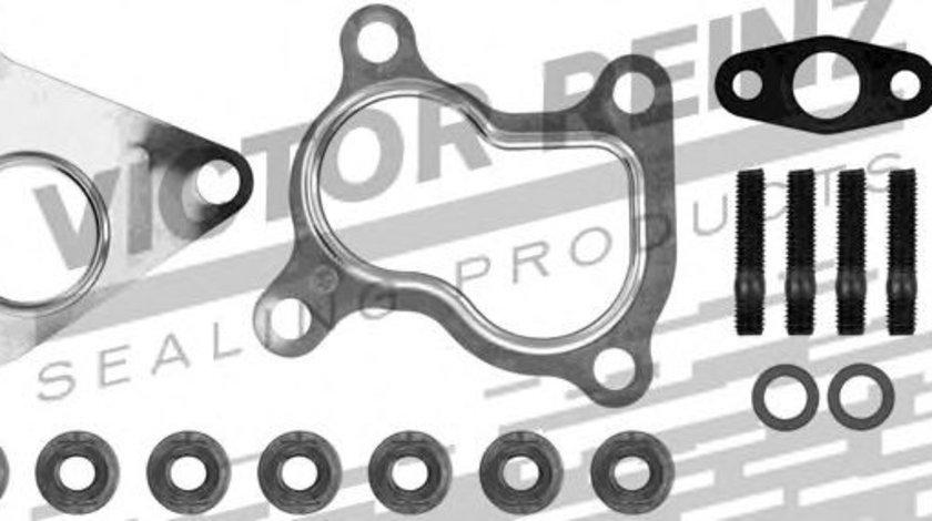 Set montaj, turbocompresor RENAULT CLIO III (BR0/1, CR0/1) (2005 - 2012) VICTOR REINZ 04-10053-01 piesa NOUA