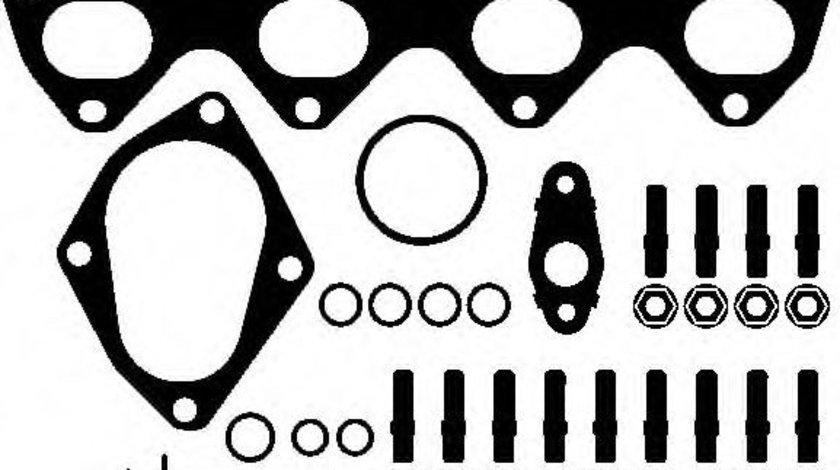 Set montaj, turbocompresor VW TIGUAN (5N) (2007 - 2016) ELRING 240.050 piesa NOUA