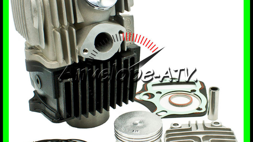 Set Motor Cilindru Atv 110 107 + Chiuloasa Atv 107 110 Piston 52.4MM