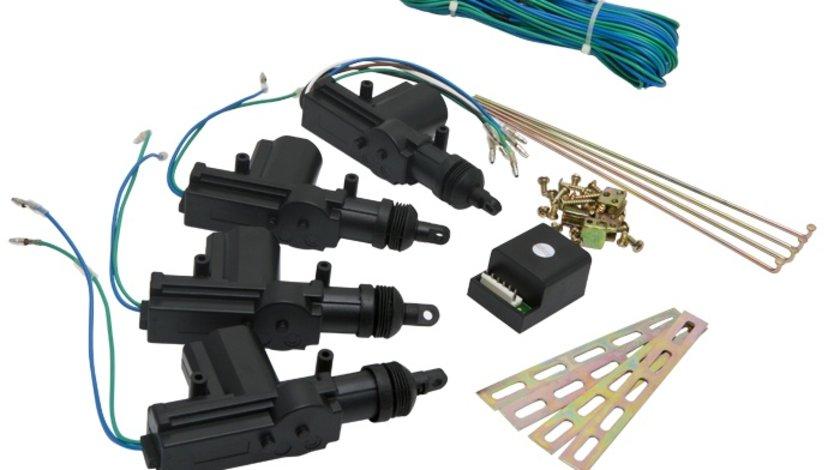 Set motor de inchidere centralizata cu modul de comanda