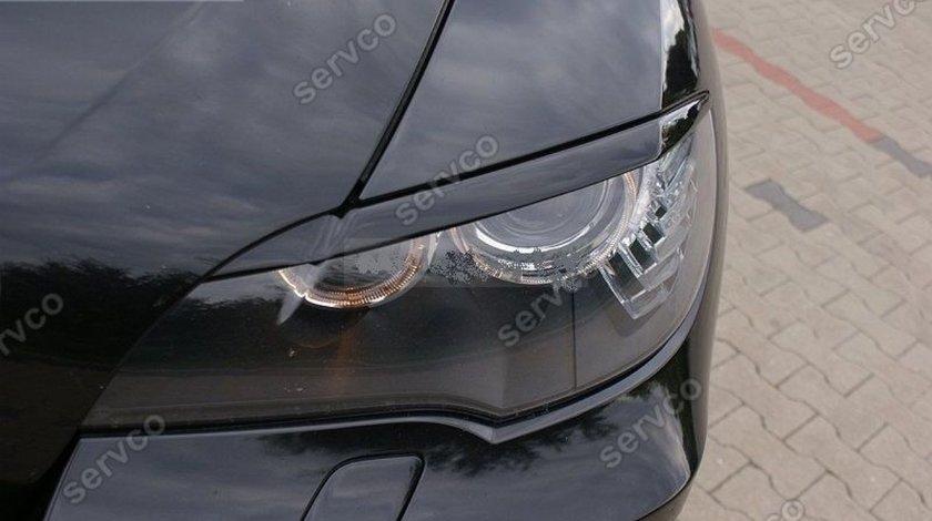 Set ornament pleoape faruri BMW X6 E71 E72 plastic ABS 2008-2014 v1