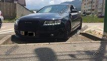 Set ornamente GRP pleoape faruri Audi A6 C6 4F S6 ...
