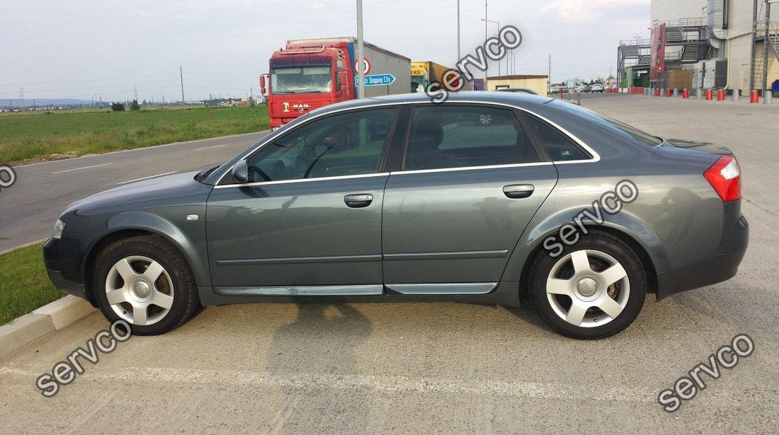 Set ornamente laterale usa usi bandouri Audi A4 B6 B7 8E 8H S4 RS4 S line 2001-2007 v1